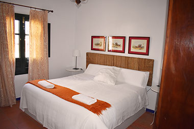 Bedrooms of Lince Casa Rural