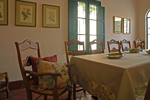 Living room of Lince Casa Rural