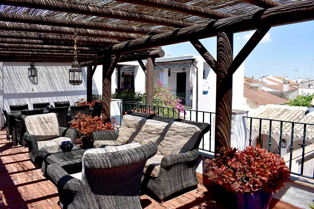 Terrace of Lince Rural House