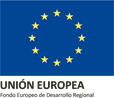 Logo of the European Union, which subsidizes Lince Casa Rural